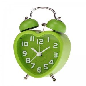 Sanwony-For-Home-Decor-Small-Double-Bell-Night-Light-Children-Heart-Shape-Mini-Quartz-Alarm-Clock